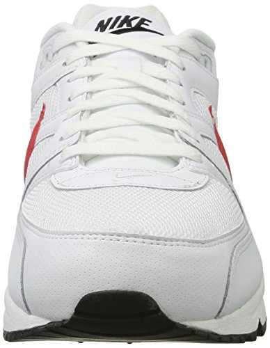 Nike Mens Air Max Command Shoe, Scarpe Fitness Uomo Bianco (Blanc/Universityrouge/Noir)