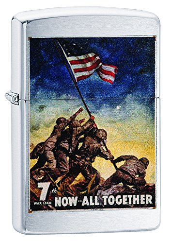 Zippo Now All Together Marine Pocket Lighter