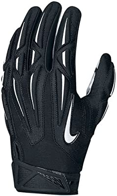 timeless design 40631 58f22 Nike Adult Superbad 2.0 Football Gloves (BLACK SILVER COOL GREY WHITE, Large),  Receiving Gloves - Amazon Canada