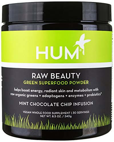Hum Nutrition   Raw Beauty Chocolate Mint   Raw Greens   Superfoods Powder  240 Grams