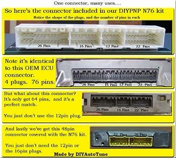 Amazon com: DIYBOB Breakout Board Kit for Nippondenso 76 Pin
