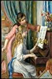 Two Young Girls at Piano ~ Renoir 1892 Journal