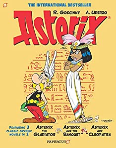 Asterix Omnibus #2: Collects Asterix the Gladiator, Asterix and the Banquet, and Asterix and Cleopatra