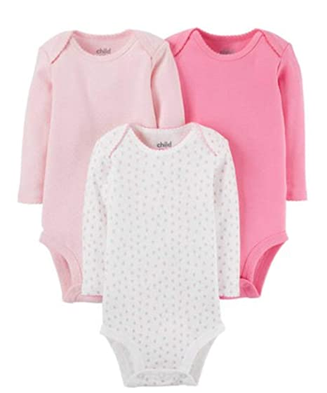 6a2757b61 Amazon.com  Child of Mine by Carters Baby Girl Size 0-3 Months 3 ...