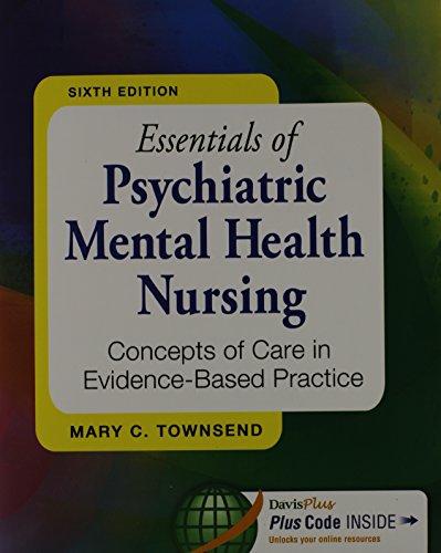 Pkg Essentials Of Psychiatric Mental Health Nursing 6th & Pedersen Psych Notes 4th