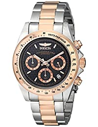 Invicta Men's Speedway Professional Collection Chronograph 18k Stainless Steel Watch INVICTA-6932