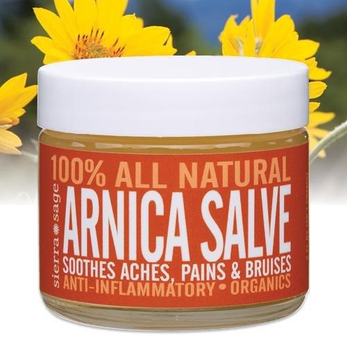 Sierra Sage Arnica Salve 2 oz Jar