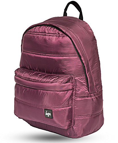 Hype Quilted Rucksack (Burgundy)