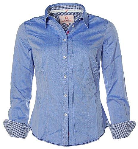 St. Moritz - Camisas - Clásico - Manga Larga - para mujer Provinzial Blue