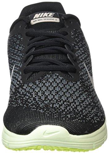 Nike Heren Air Max Sequent 2, Zwart / Mtlc Cool Grijs-antraciet, 7