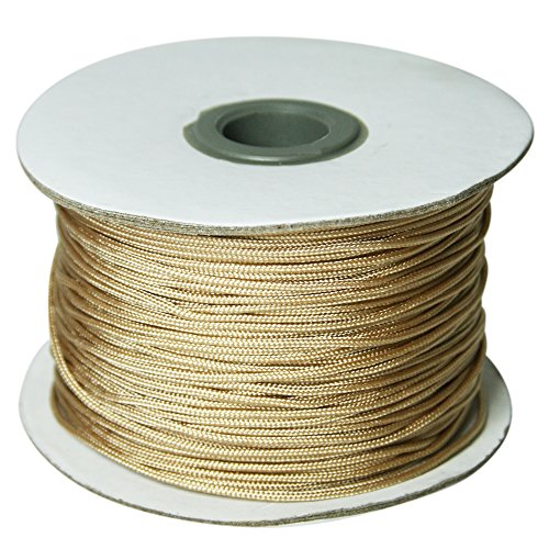 Home Sewing Depot Roman Shade Lift Cord 1.4 Mm Cord 100 Yds - Color Tan