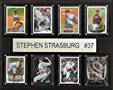 MLB Washington Nationals Stephen Strasburg 8-Card Plaque, 12 x 15-Inch