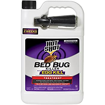 Is Hot Shot Bed Bug Spray Residual