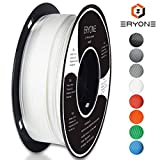 ERYONE White PLA 3D Printer Filament 1.75mm for 3D Printer / 3D Pen 1kg (2.2LBS)/Spool