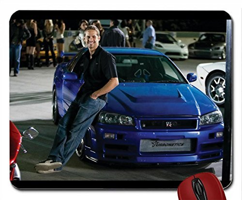 Fast And Furious Movie Cars Nissan Skyline GTR mouse pad computer mousepad by Happy pad