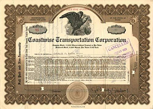 Coastline Transportation Corporation