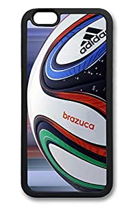 6 Plus Case, iPhone 6 Plus Case Brazuca Ball Close Up World Cup 2014 Creativity TPU Silicone Gel Back Cover Skin Soft Bumper Case Cover for Apple iPhone 6 Plus by Maris's Diaryby Maris's Diary