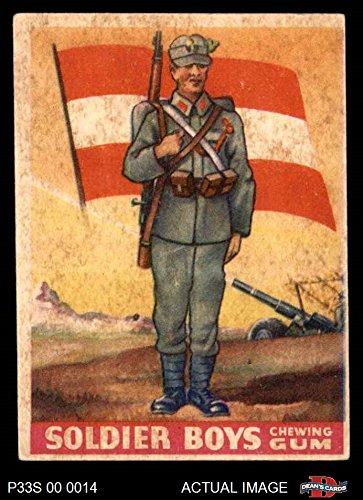 1933 Goudey Soldier Boys # 22 Austria (Card) Dean's Cards 4 - VG/EX 2984660