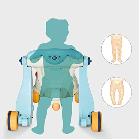 Amazon.com: KJRJXB Sit,Stand and Ride Baby Walker (embalaje ...