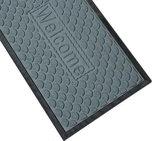 Amagabeli outdoor rubber welcome mat for patio front door garage entance non slip rug shoes - Front door mats as a guest greeting tool ...