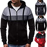 Amlaiworld Men Plus Size Sweatshirt Long Sleeve