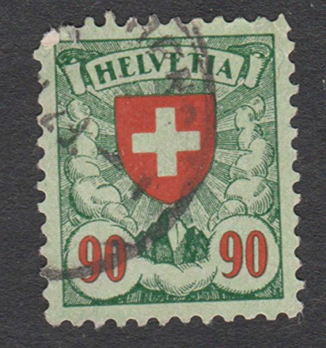 Switzerland Coat - Switzerland Coat Of Arms 90 Postage Stamp