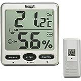 Funk Thermometer FT007 mit 1 Aussensensoren XXL Display Hygrometer
