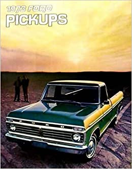 1973 ford f250 sales brochure