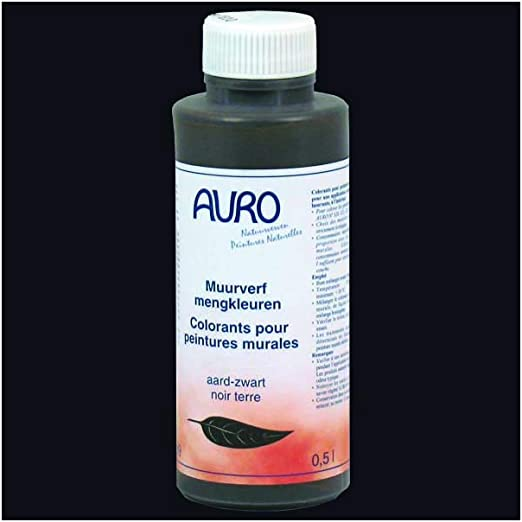Auro Colorant Pour Peinture Murale Auro N 330 Noir Terre