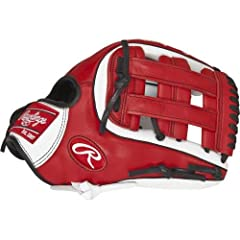 Show some personality on the field with the Rawlings Gamer XLE Baseball Glove. Featuring a brightly colored full-grain leather shell, this soft baseball glove with pro-style features is designed to maximize defensive performance. This 11-1/4-...