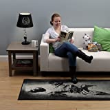 "Han Solo in Carbonite Carpet Runner Rug - Limited Edition - Large/X-Large - 90.5"" X 39"""