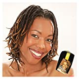 AFRO PUFF 10 - Lord & Cliff 100% Human Braiding Hair Extensions #1B Off Black by Lord and Cliff