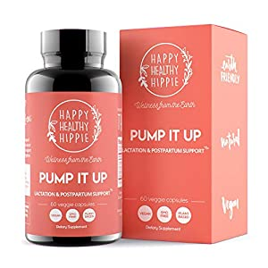 Gut Health Shop 51eU93ZGx9L._SS300_ Pump It Up Lactation Supplement – Powerful Gentle All-Natural Herbal Breastfeeding Postnatal Vitamins Support Easier…