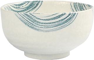 Ciotola riso in ceramica in stile giapponese da 5 pollici Insalatiera Grande porcellana porcellana dipinta a mano