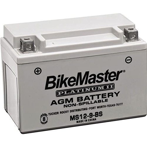 (BikeMaster AGM Platinum II Battery MS12-10L-A2 - One Size)