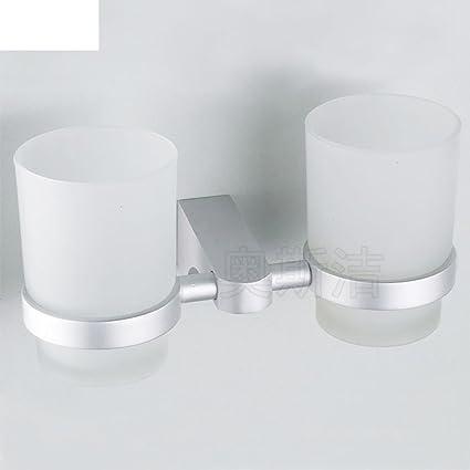 ZWX OIU Espacio de rack de toalla de aluminio/colgante de metal/Copas para