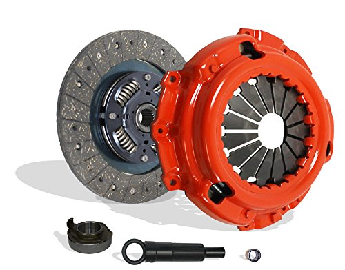 Ford Mercury Tracer (Clutch Kit Stage 1 Works With 1997-2004 Mercury Tracer Mazda Tribute Ford Escape Escort Limited Sport XLS XLT DX ZX2 SE GS LS Trio Aust Deportivo 2.0L l4 GAS DOHC SOHC Naturally Aspirated (Stage 1))