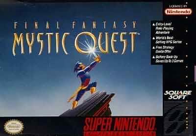 Amazon.com: Final Fantasy: Mystic Quest: Video Games