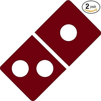 Amazon com: NBFU DECALS Logo Dominos Pizza (Burgundy) (Set