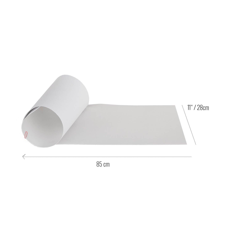 28/x 85/cm Grip Tape rellik Longboard Clear Transparent Grip 11/
