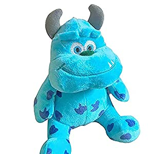 1pc 20cm Monsters Inc Monsters University Monster Mike Wazowski or James P. Sullivan Plush Toy for Kids Gift Blue