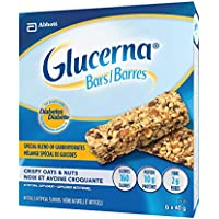 Glucerna Bars, Crispy Oats & Nut, 40g, 6 Count