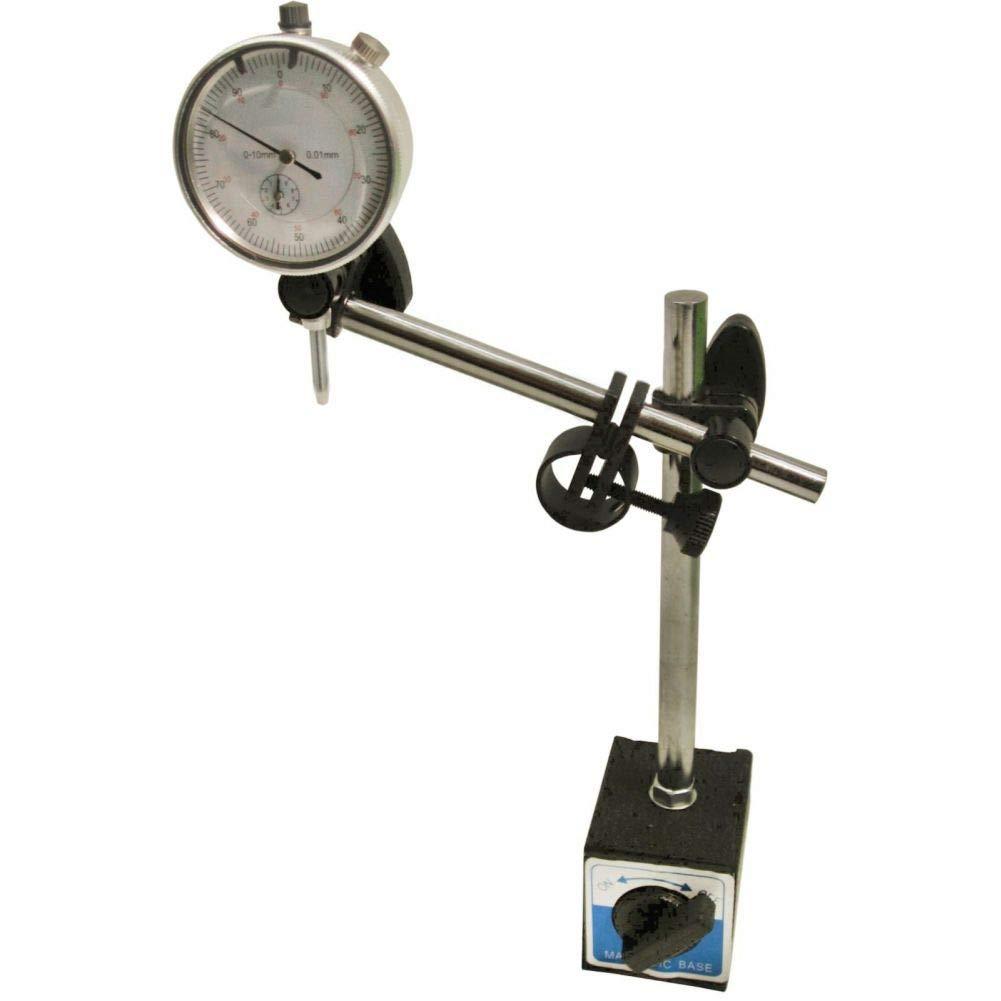 Dial test indicator DTI gauge & magnetic base stand clock gauge TDC TE107TE108 by Tao tao family