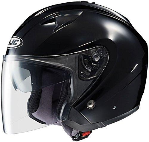 HJC Helmets IS-33 Helmet (Black, X-Large)