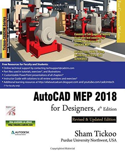 AutoCAD MEP 2018 for Designers - Buy Online in Oman