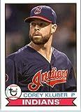 2016 Topps Archives Baseball #107 Corey Kluber Cleveland Indians