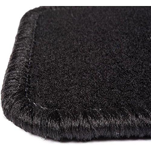 Black Carpet 600g//m/² Range One Custom Made 4 Pieces DBS 1765672 Car Floor mat Steering Wheel Left