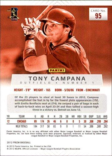 e12edf6e7 2012 Panini Prizm #95 Tony Campana at Amazon's Sports Collectibles Store