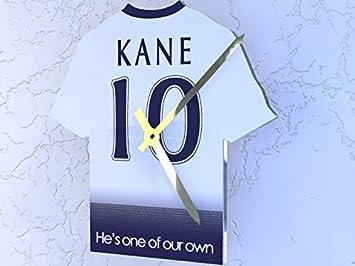 Reloj con forma de camiseta de la Premier League, plástico, Tottenham Hotspur FC Football