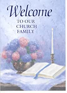 """Welcome to Our Church Family"" Greeting Cards with Scripture (8-pack of Cards, Envelopes)"